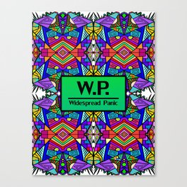 WP - Widespread Panic - Psychedelic Pattern 2 Canvas Print