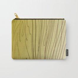 zebra stripes zebra skin  gold Carry-All Pouch