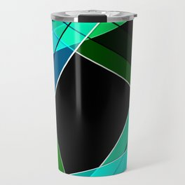 Abstract pattern 8 Travel Mug