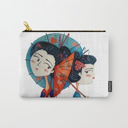 Blue Geishas Carry-All Pouch