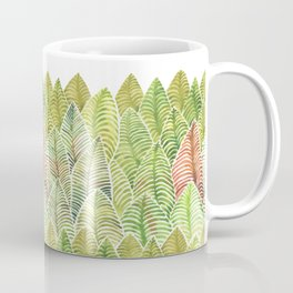 Forest of Leaves by Michelle Scott of dotsofpaint studios Coffee Mug