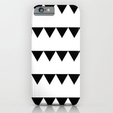 TRIANGLE BANNERS (Black) iPhone 6s Slim Case