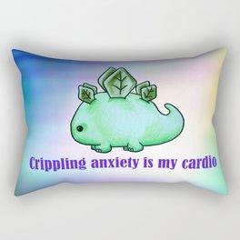 Dinosaur Anxiety Rectangular Pillow