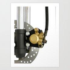 brake Art Print