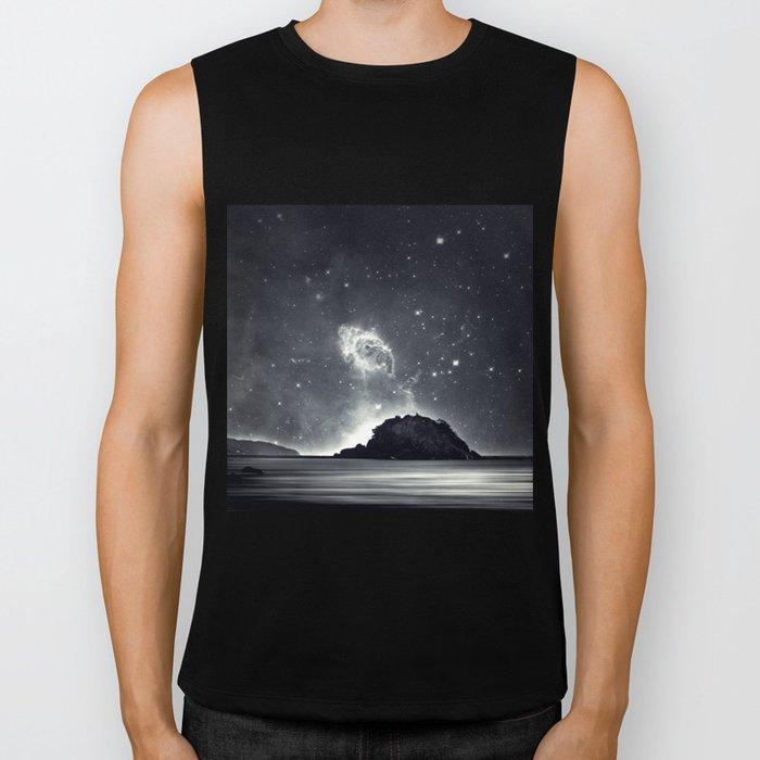 Island in the sea of eternity Biker Tank
