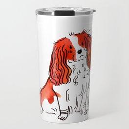 Cloe - Dog Watercolour Travel Mug