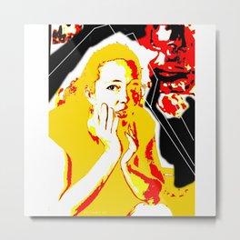 Woman N16 Metal Print