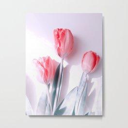Delicate Bouquet Metal Print