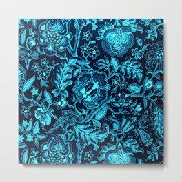 Natures Palette - Blue Metal Print