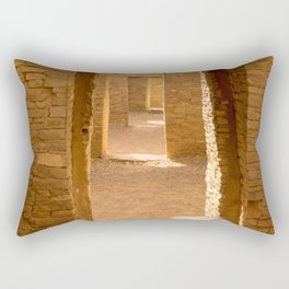 Chaco Ancient Doors Rectangular Pillow
