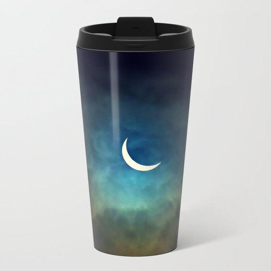 Solar Eclipse 1 Metal Travel Mug