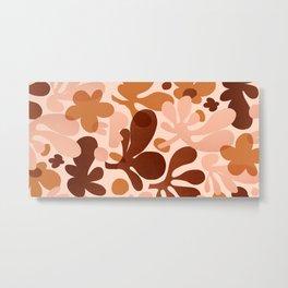 Abstraction_Floral_Modernism_ART_Minimalism_001 Metal Print
