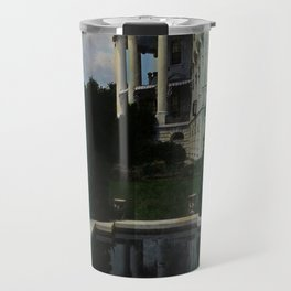 White House Lantern Slide Remastered Travel Mug