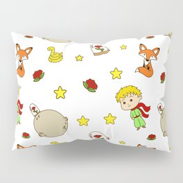 Prince From Alone Planet Pillow Sham