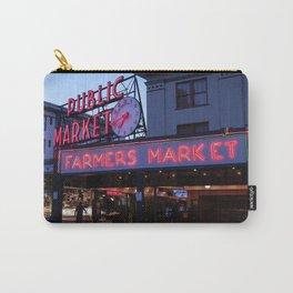 Public Market, Seattle WA Carry-All Pouch