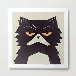 #30daysofcats 07/30 Metal Print
