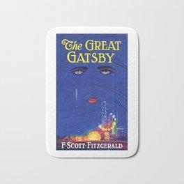 The Great Gatsby Original Book Cover Art Bath Mat