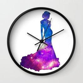 Galaxy Dress Wall Clock
