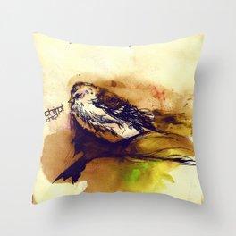 Chirp Throw Pillow