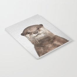 Otter - Colorful Notebook