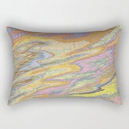 Eastern Pennsylvania (PA) Topo.luv Rectangular Pillow