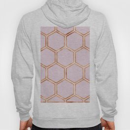 Copper candy honeycomb Hoody