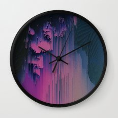 Pink Fringe Wall Clock