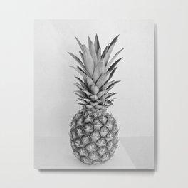 Pineapple II Metal Print
