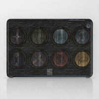 skyrim iPad Cases featuring Shield's of Skyrim by VineDesign