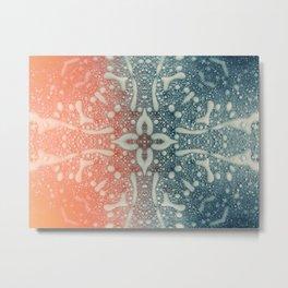 Blank Sea Metal Print