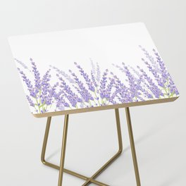 Lavender in the Field Side Table