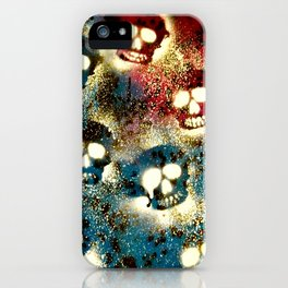 Speckled Skulls. iPhone Case