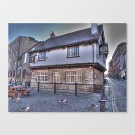 The King's Arms York Canvas Print