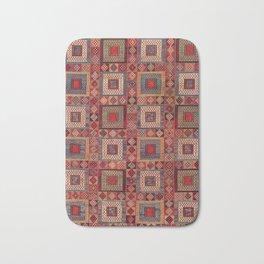 Azeri Zili Karabagh Azerbaijan South Caucasus Flatweave Print Bath Mat