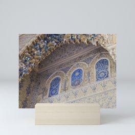 Royal Palace Aesthetic // Sevilla Mini Art Print