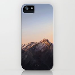 Dusky Mountains iPhone Case
