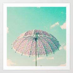 I'm prepared if rain comes Art Print