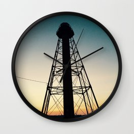 Lighthouse in Marblehead Wall Clock