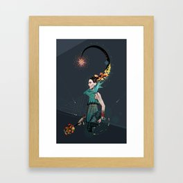 Hot Headed Framed Art Print