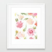"""hawaiian Framed Art Prints featuring """"Hawaiian"""" by  Tori Wise"""