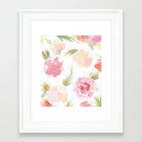 "hawaiian Framed Art Prints featuring ""Hawaiian"" by  Tori Wise Watercolors"