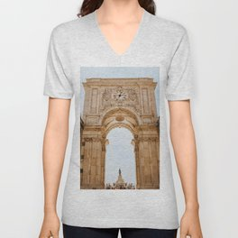 The Arch Way (Color) Unisex V-Neck
