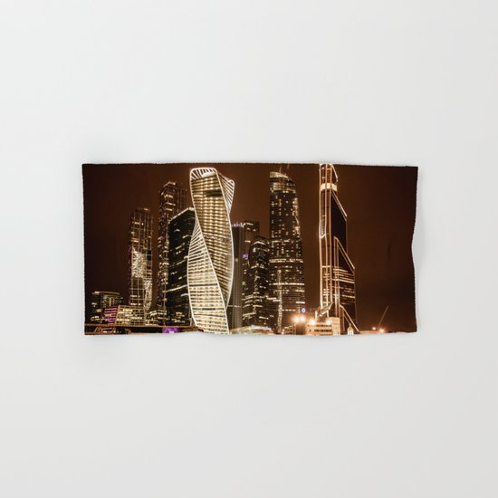 Moscow city Hand & Bath Towel