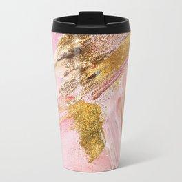 Blush Glitz Travel Mug
