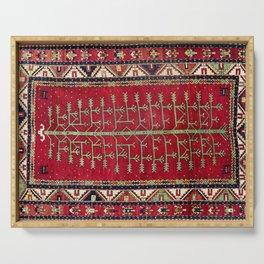 Kazak  Antique Caucasian Rug Print Serving Tray