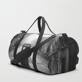 Tardis And The Old City Duffle Bag