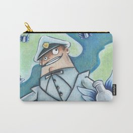 The Milkman Boyd Cooper with Angel Milk Bottles - Psychonauts Carry-All Pouch