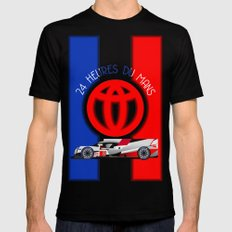 24 Hours of Le Mans - Toyota TS050 MEDIUM Black Mens Fitted Tee