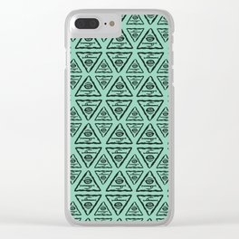Triangle by Caleb Croy Clear iPhone Case