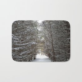 Winter wonderland Bath Mat